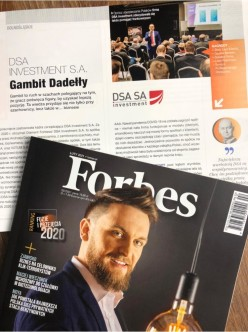Diamenty Forbesa DSA Investment S.A.